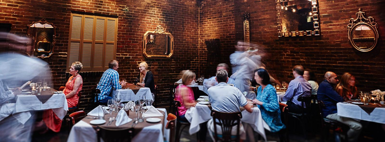 Sidney Street Café Back Dining Room